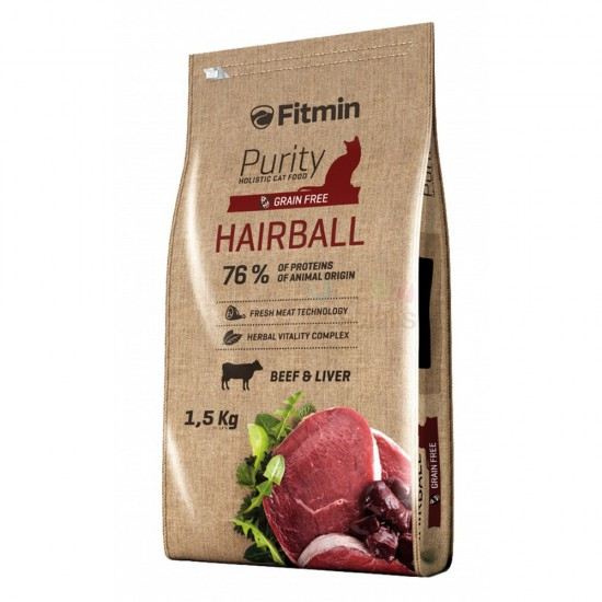 FITMIN PURITY HAIRBALL 1.5KG