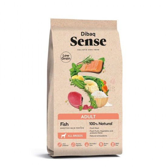 DIBAQ SENSE LOW GRAIN ADULT (FISH) 12KG