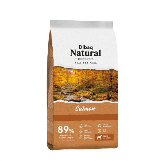 DIBAQ NATURAL MOMENTS SALMÓN 3KG